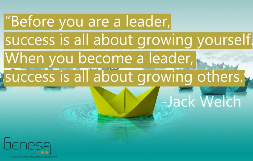 Leader coaching for business leadership